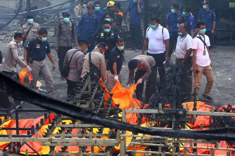 Gudang Mercon di Tangerang Meledak
