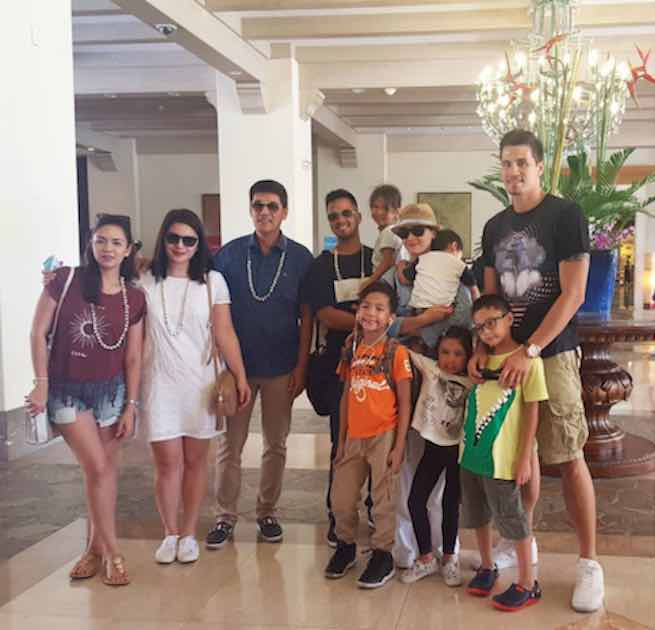 Vic Sotto And Family Go On A Vacation In Cebu