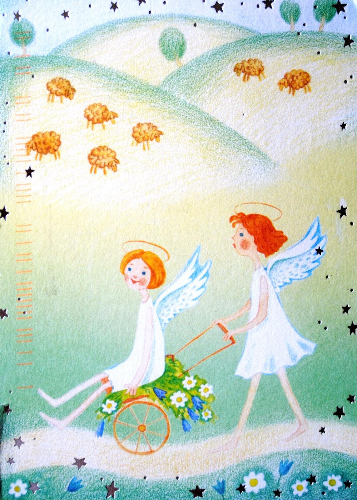 małe aniołki