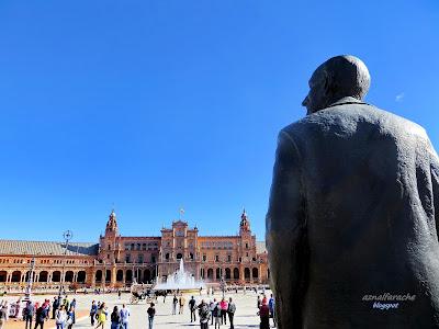 Sevilla - Aníbal González - Plaza de España