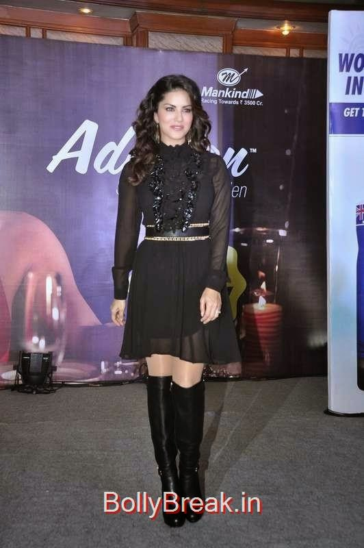 Sunny Leone at the launch of Addiction Deo in Mumbai, Sunny Leone, Neha Dhupia, Sonakshi Sinha Snapped At DIfferent Events