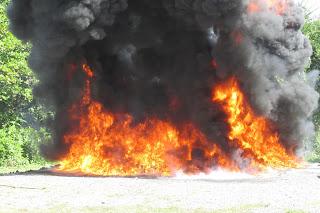 Procuraduría quema 366 kilogramos de drogas decomisados en el país
