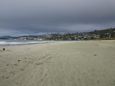 Playa Tahunanui, Nelson, Nueva Zelanda