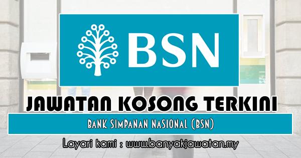 Jawatan Kosong 2018 di Bank Simpanan Nasional (BSN)