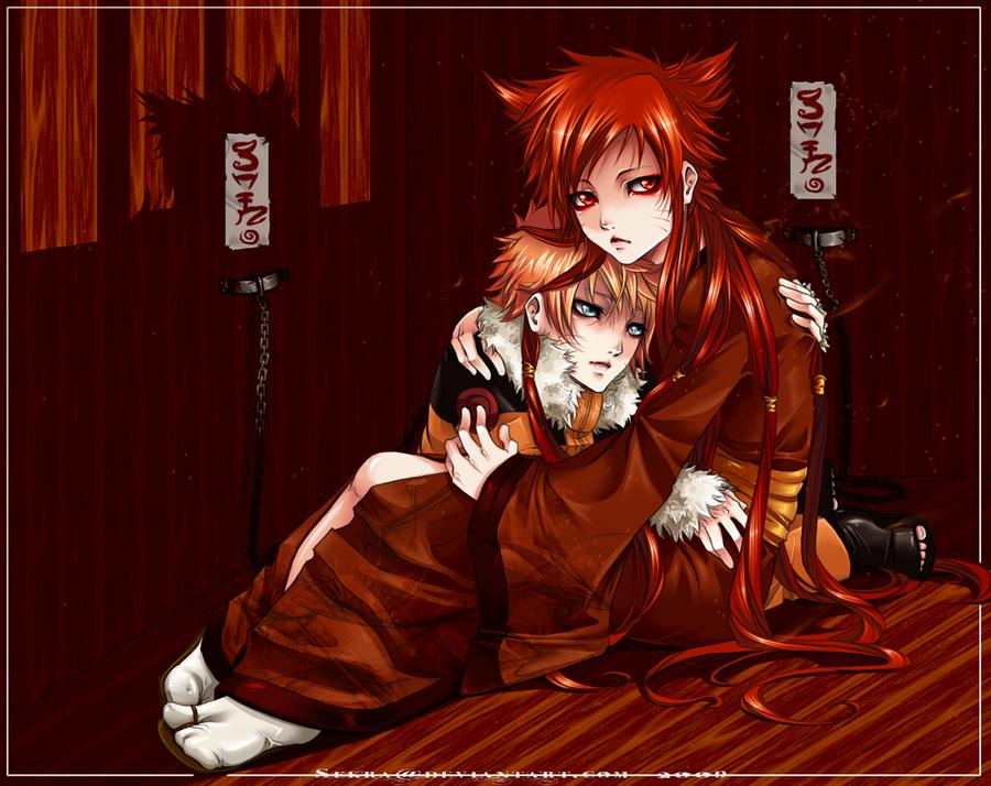 Bohaterowie: Płacz Demona - Naruto i KuramaNaruto X Fem Kyuubi
