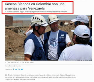 Cascos Blancos vs Venezuela Blog Cuba, Isla Mía