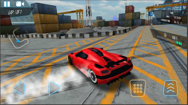 Permainan Mobil Balap GTR Speed Rivals APK Android