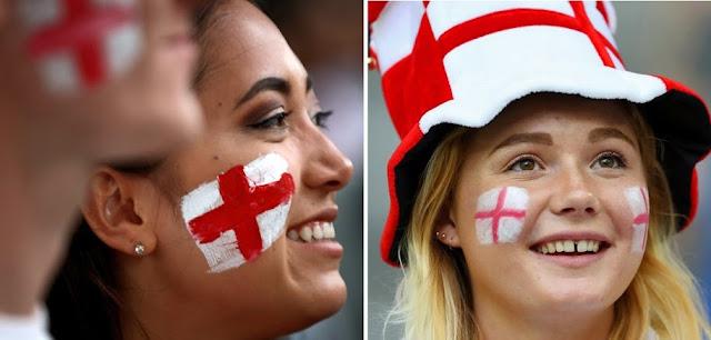 صور مشجعات انجلترا المثيرات