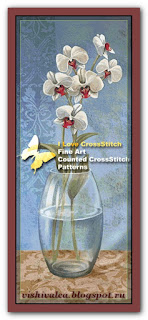"I love cross stitch CK-003 ""Final Serenity I"""