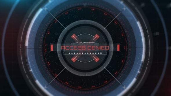 مشروع لوجو تقني بتأثيرات HUD   افتر افكت CS6 فأعلى
