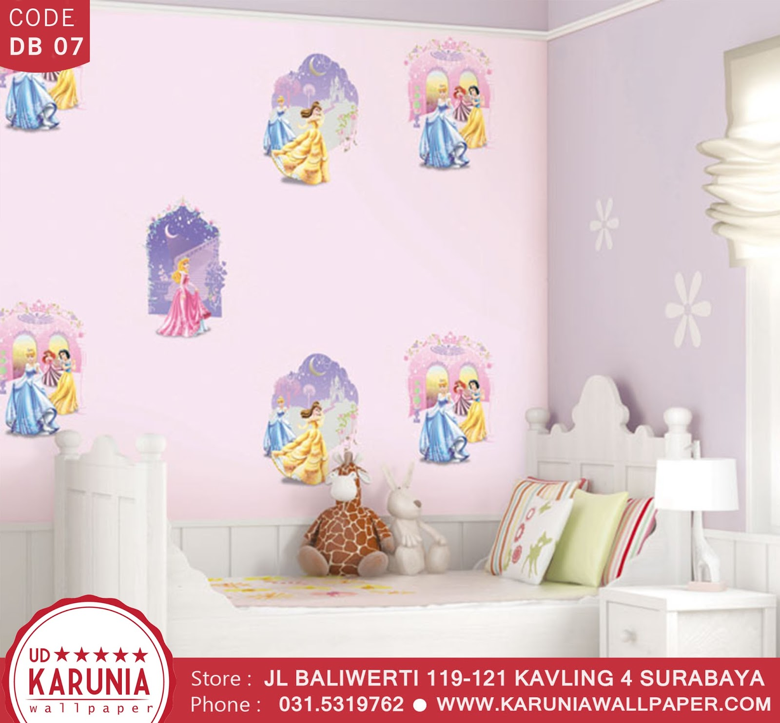 jual wallpaper princess karuniawallpaper