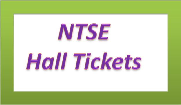 TS NTSE Hall Tickets download - Exam on 6th Nov, 2016(www.naabadi.org)