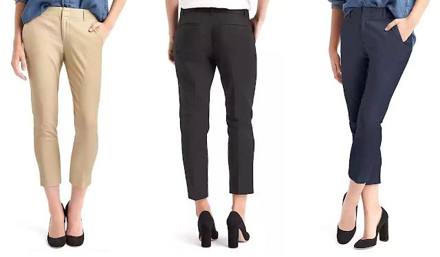 Gap Slim Crop Pants $12 (reg $60)