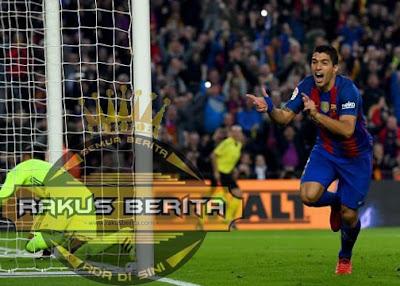Suarez Membuka Keunggulan Di Laga El Clasico