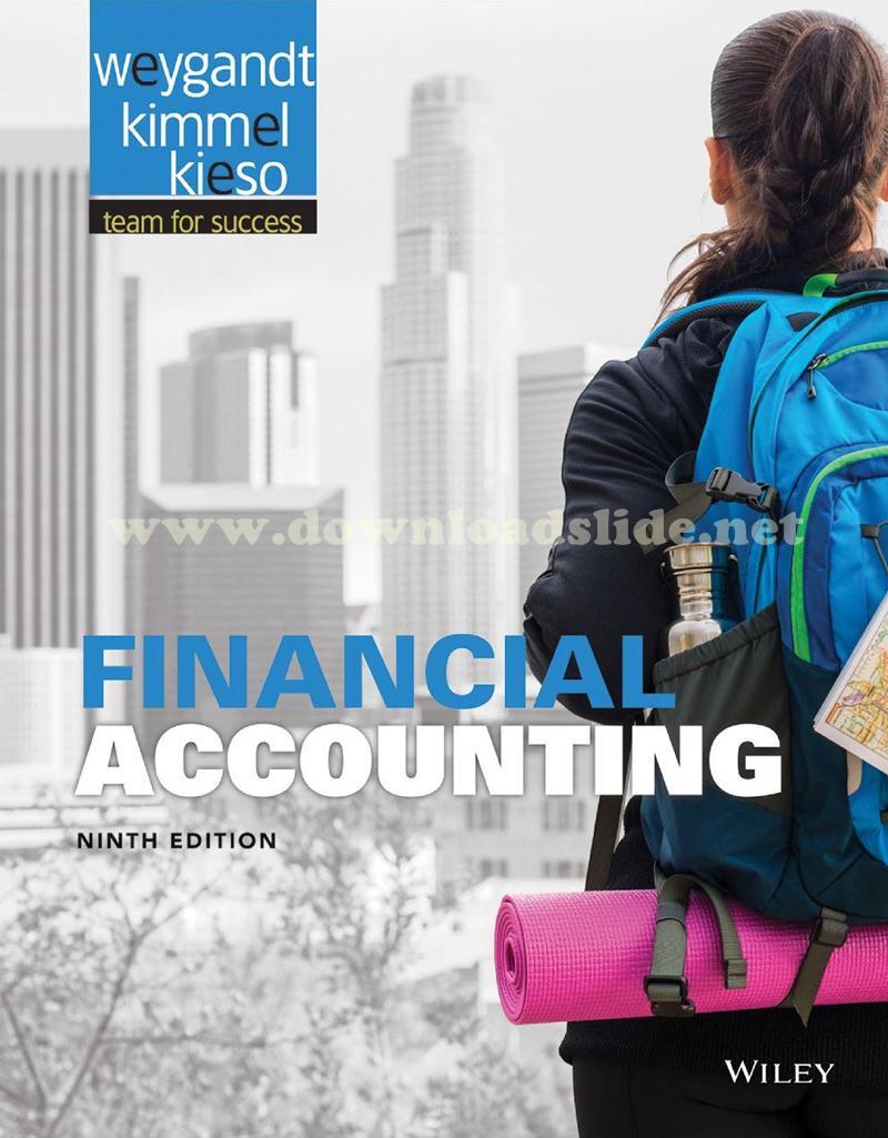 Ebook Financial Accounting 9th Edition by Kieso, Weygandt & Kimmel