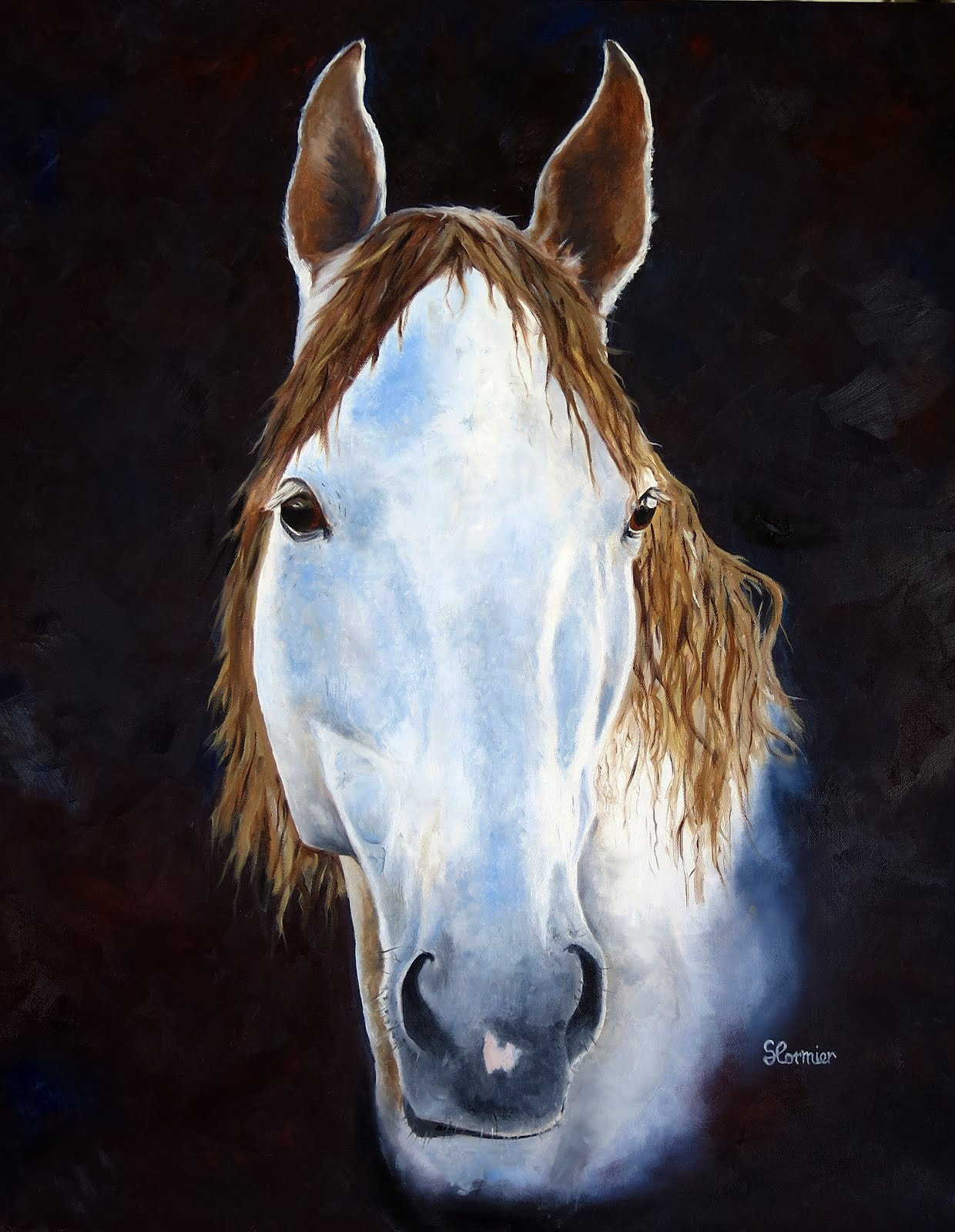 Newest Horse Painting