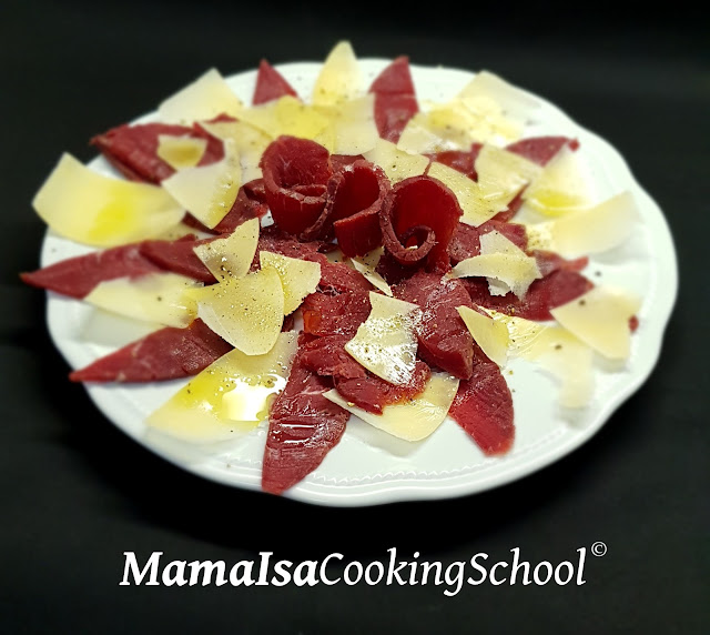 Recipe of the Day - bresaola and parmesan