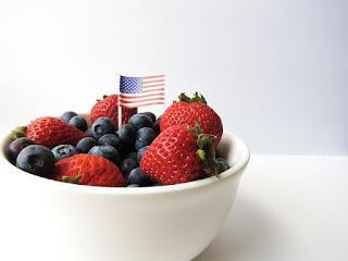 patriotic fruit platter recipe