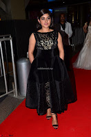 Niveda Thomas Black Sleeveless Cute Dress at 64th Jio Filmfare Awards South 2017 ~  Exclusive 005.JPG