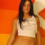 Andrea Rincon – Selena Spice – Sexy Top Blanco y Tanga Negra Foto 117