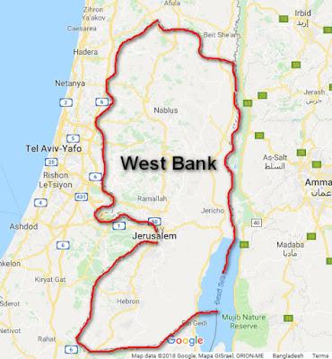 পর্ব-৫: পশ্চিম তীর (West Bank) কি এবং কোথায় আসুন জানি বিস্তারিত !