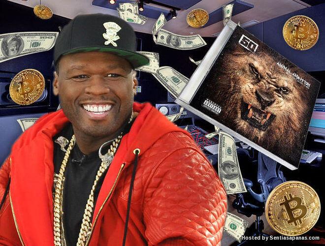 Penyanyi Rap 50 Cent Jutawan Bitcoin!
