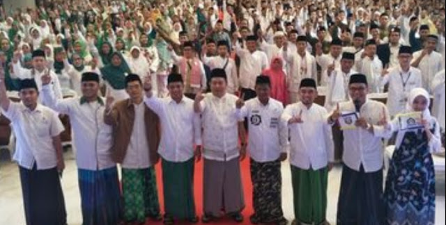Anggap Kiai Ma'ruf Guru, Ribuan Alumni Pesantren se-DKI Deklarasi Dukung Jokowi-Ma'ruf