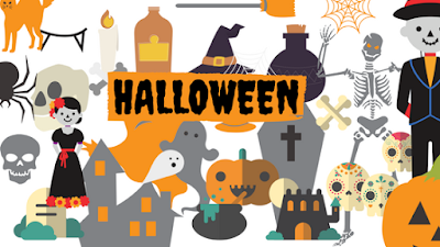 HALLOWEEN, FIESTA, KIT IMPRIMIBLE, GRATIS, DESCARGAR