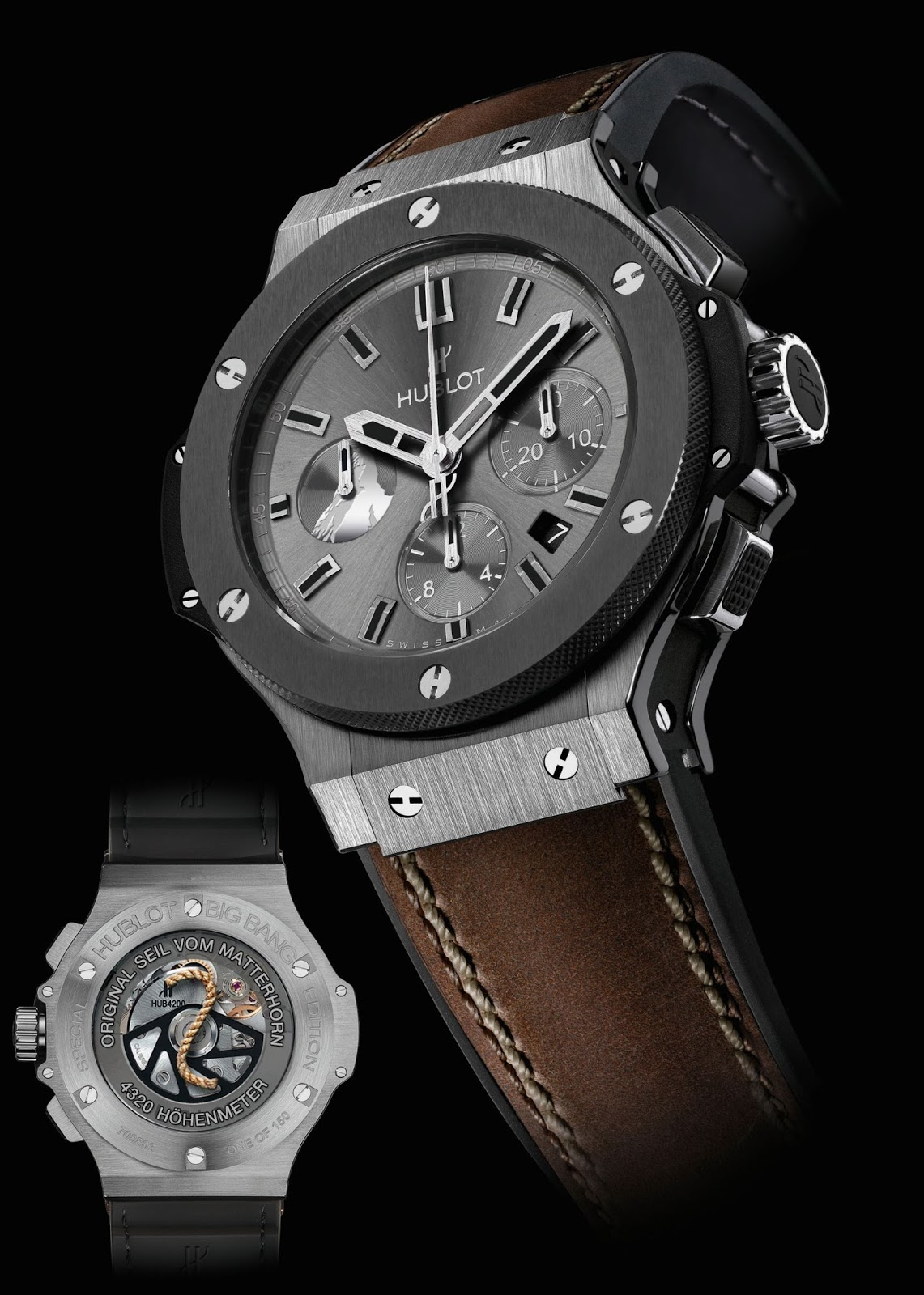 Hublot Uhr Neue Uhr : Hublot Big Bang Zermatt - Tungsten & Red Gold