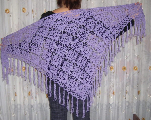 Quick Crochet Prayer Shawl