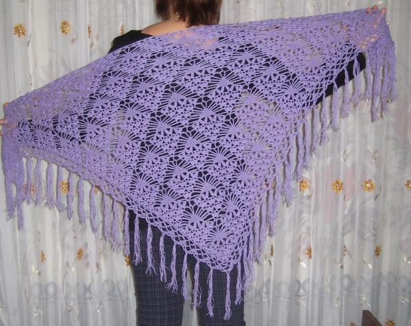 Quick Crochet Prayer Shawl
