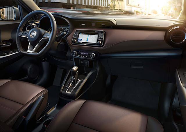 Nissan Kicks - interior Macchiato