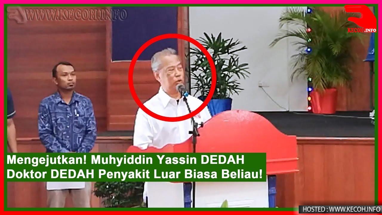 Akhirnya Muhyiddin Yassin Sendiri Dedahkan Penyakit Luar Biasa Beliau