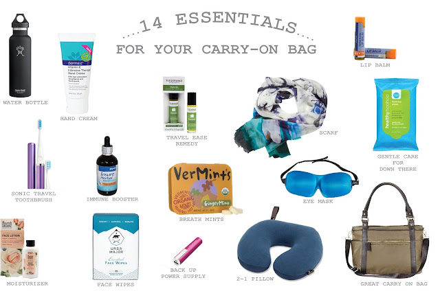 Carry On Travel Essentials For Your Carry-On Bag You Need for Your Trip via  www.productreviewmom.com