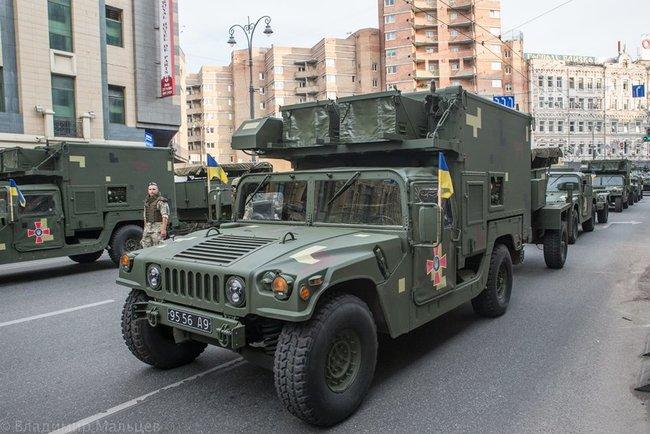 HMMWV AN/TPQ-36 М1097 9556 А9