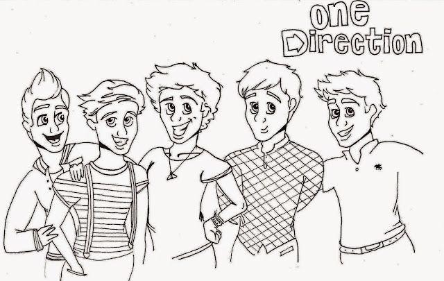 One Direction coloring.filminspector.com