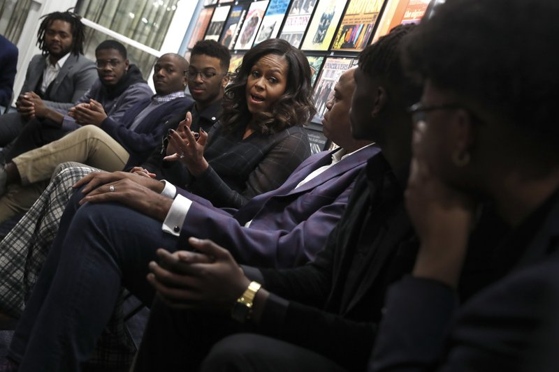 African American Reports Michelle Obama S Surprises Detroit