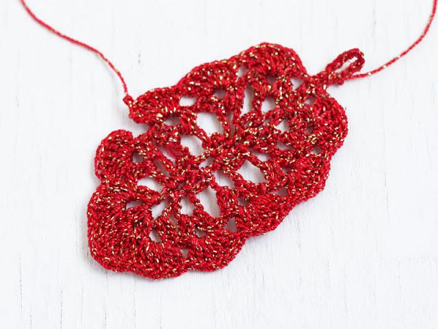 crochet earrings pattern free