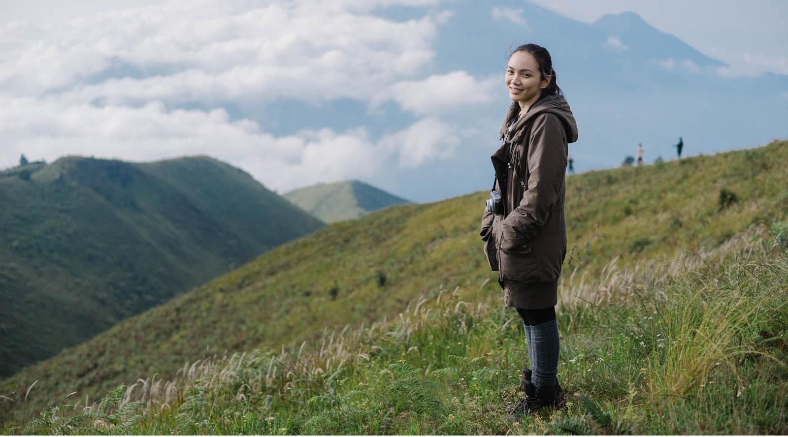 siapa pemliki akun pnedaki wanita cantik Gunung Prau (2.565 mdpl) - Wonosobo