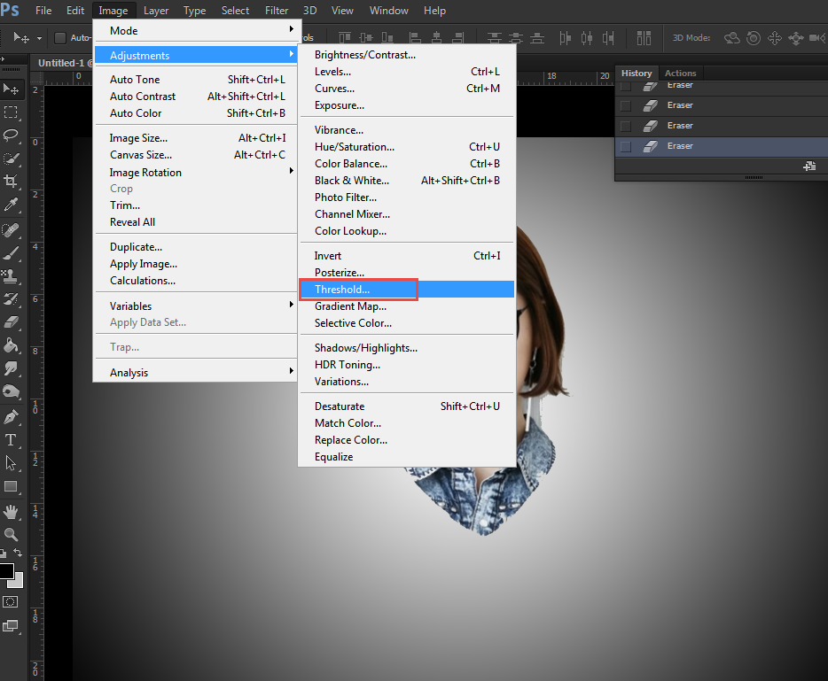Cara Membuat Logo Wajah Menggunakan Adobe Photoshop ~ Aphriell Art