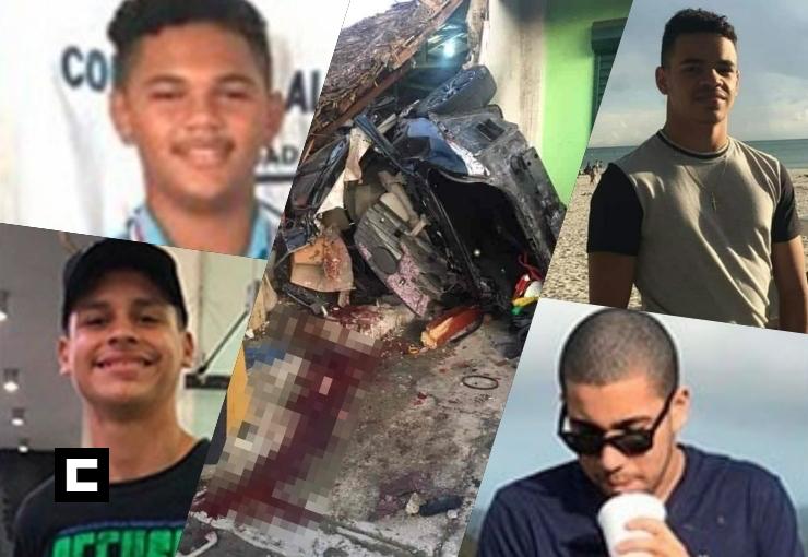 Identifican jóvenes de SFM que murieron tras accidente en La Vega