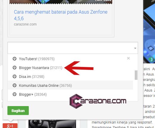 Cara Cek Berapa Banyak Post Google+ di indeks Google Search