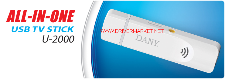 Dany USB TV Stick U-2000 Latest Driver Free Download For