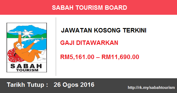 Jawatan Kosong di Sabah Tourism Board