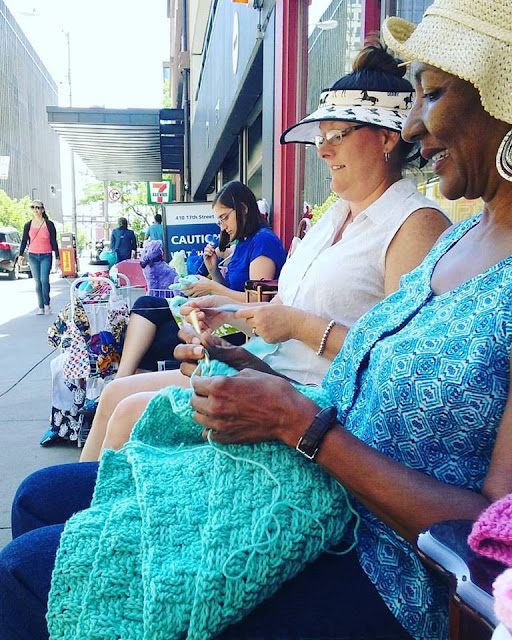Spring Community Yarn Knit Out and Crochet Event!