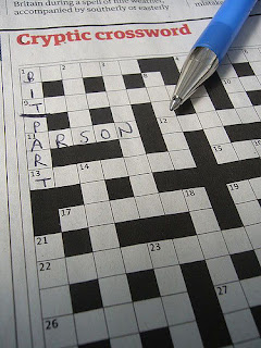 Cryptic crossword, by Terry Freedman