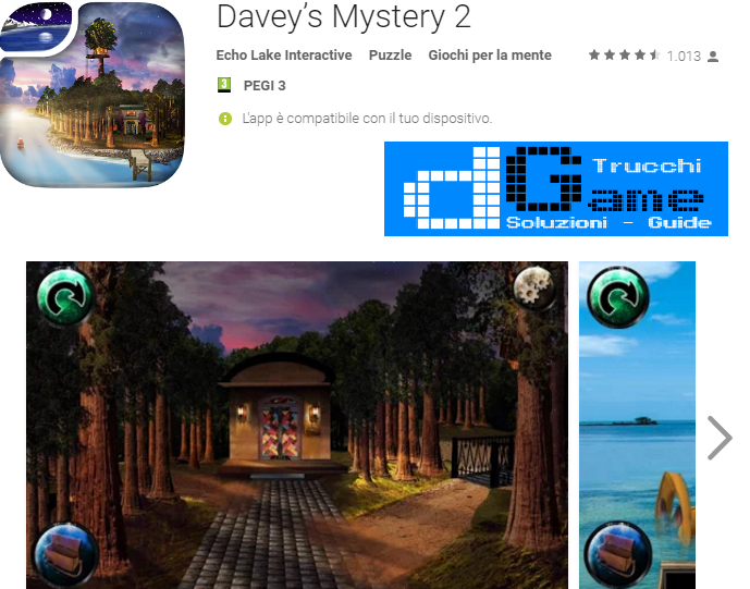 Soluzioni Davey's Mystery 2 di tutti i livelli | Walkthrough guide