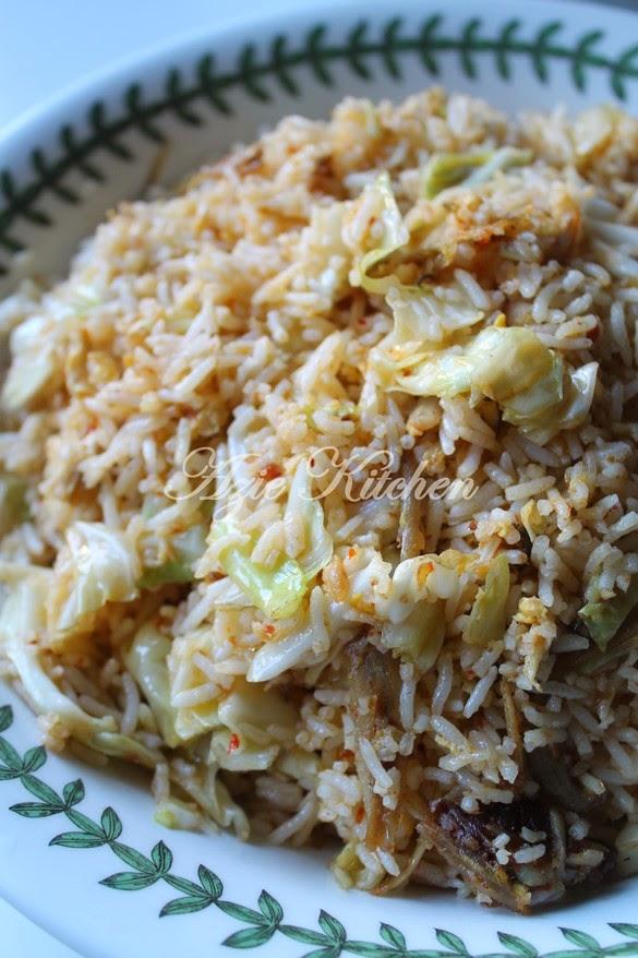 Nasi Goreng Ikan Bilis Yang Mudah Tapi Sedap Azie Kitchen