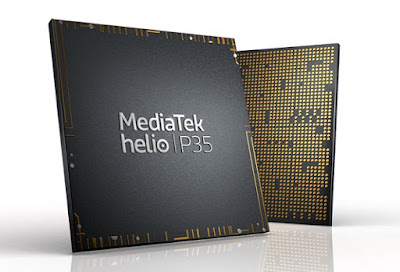 Smartphones with MediaTek Helio P35 processor