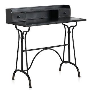 mesa escritorio secreter de forja